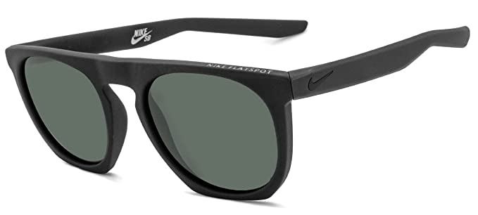 Nike FLATSPOT EV0923, Gafas de Sol para Hombre, Negro (MT Black/DP