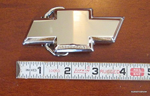 Chevrolet Chevy Classic Gold Bow Tie Belt Buckle (Faith Buckle)
