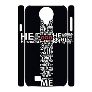 ALICASE Diy Case Jesus Christ Cross Cover For Samsung Galaxy S4 i9500 [Pattern-1]