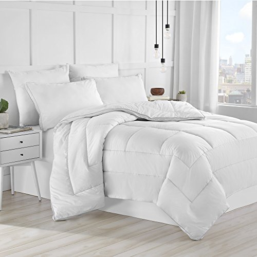 Under The  Canopy Eco Pure Twin White Comforter ()