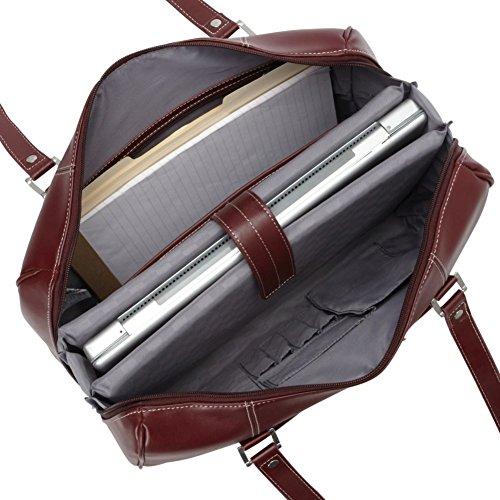 Samsonite Ladies' Leather Business Bag (Red)
