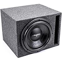 Skar Audio Single 12 800 Watt Subwoofer Package - Includes 12-Inch VD Series Dual 2 Ohm Subwoofer in Ported Box