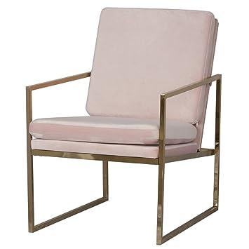 Sessel Stühle Armlehnensessel für Wohnzimmer, Velvet Stuhl ...