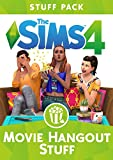 Invite your friends over for a movie night and hangout in carefree style with The Sims 4 Movie Hangout Stuff*. Pop a bowl of popcorn and entertain your Sims with a movie on the all-new projector screen. Embrace a low-key mood by dress...