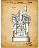 Curta Calculator Art Print - 11x14 Unframed Patent Print - Great Gift for Mathematicians and Computer Geeks
