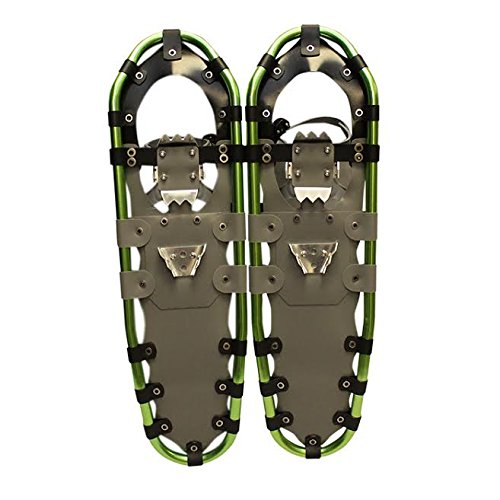 New MTN Extreme Lightweight All Terrian Man Woman Kid Teen Snowshoes up to 255 lbs /Free Bag (30inch) by MTN Snowshoes