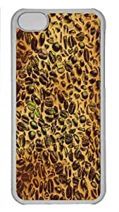 MMZ DIY PHONE CASEForm-Fitting Design with Illustration Painting I love coffee Hard Plastic Back Case for ipod touch 5 -519079