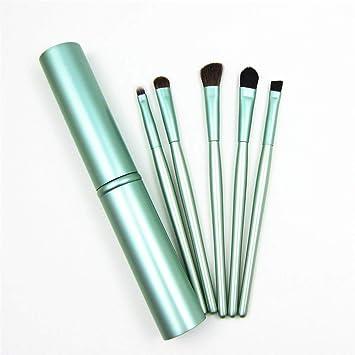 c2277a273350 Amazon.com: 5pcs Travel Portable Mini Eye Makeup Brushes Set ...