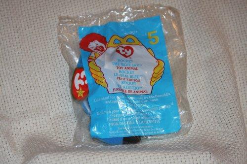 (TY McDonald's Teenie Beanie - #5 ROCKET the Bird)