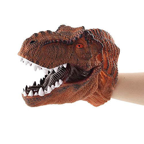 Liangxiang Dinosaur Hand Puppets Role Play Toys, Soft Rubber Realistic for Kids' Party Favors Supplies from Liangxiang