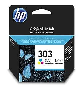 Cartucho de tinta original tricolor HP 303