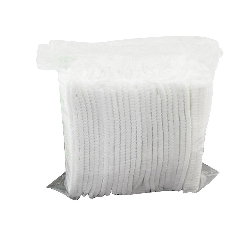 e5c60fb5e0dfa ROSENICE Gorro Desechable No tejidas elásticas - 100 Piezas  Amazon.es   Hogar