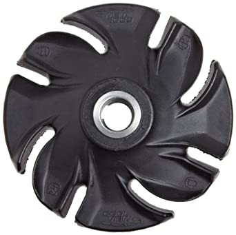 """Jooltool 3M Coolview Deign Abrasive Disc with Square Nut, 4.5"""" Diameter, Grit 36"""