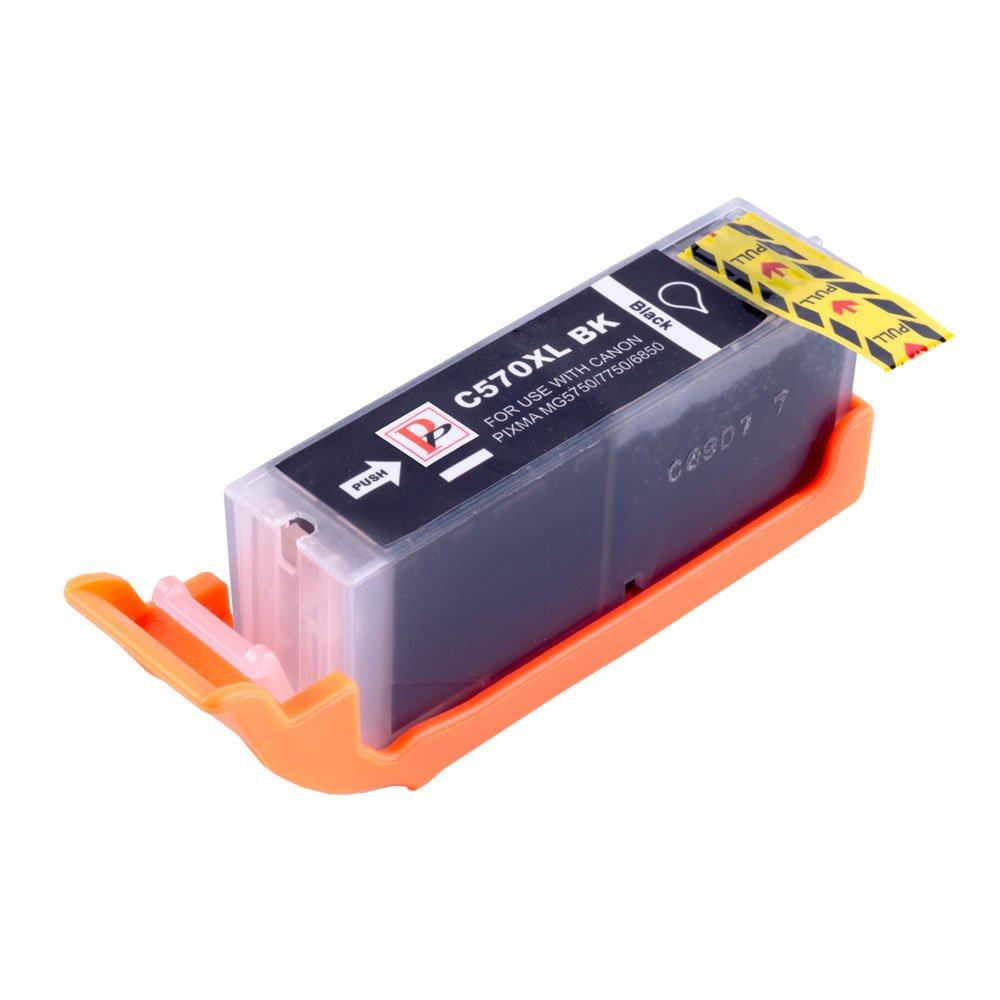 PerfectPrint Compatible Tinta Cartucho Reemplazo Para Canon PIXMA MG5750 MG6850 MG5751 MG6851 MG5753 MG5752 MG6852 MG6853 MG5700 MG6800 TS6050 ...