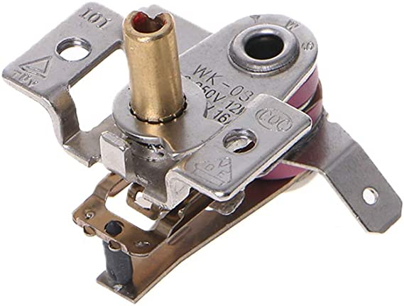 JENOR KDT-200 Thermostat de chauffage bi-m/étallique r/églable /à 90 /°C AC 250 V 16 A