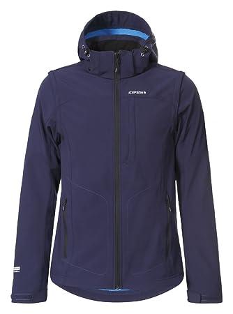 ICEPEAK Herren Softshell Jacket Leonidas, Ultramarine, M, 557805682I