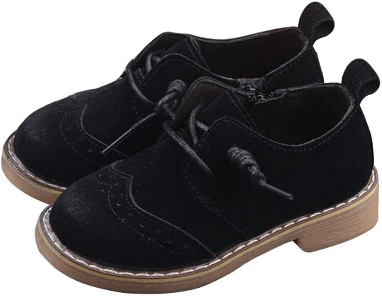 Non-Slip Faux Suede Oxfords Dress Shoes