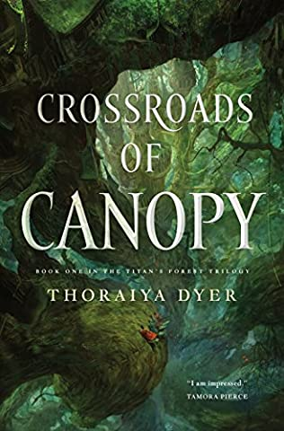 book cover of Crossroads of Canopy