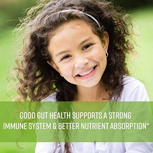 51KoRRCbT3L. AC - MAV Nutrition Probiotics For Kids Vitamins - Flora Health Support Gummies With 2 Billion Live Probiotic Cultures Fiber Supplement; Natural Flavor; 60 Gummies