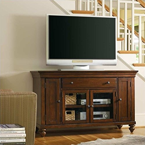 Hooker Furniture 1037-56401 Wendover 56'' Entertainment Console, Medium Wood (56' Tv Stand Console)