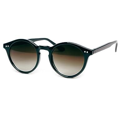 47c78107a2 Sunglasses KISS - style MOSCOT mod. WAVE Johnny Depp - Cult VINTAGE Light  man woman ROUND unisex - BLACK  Amazon.co.uk  Clothing