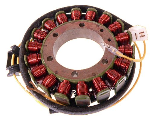 This is a Brand New Stator for Yamaha XV700 1986-1987, XV750 1988-1997, XV1100 1986-1997 by DISCOUNT STARTER & ALTERNATOR