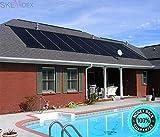 SKEMIDEX---28'x20' Solar Energy Swimming Pool spas Sun Heater Panel Inground Above Ground And solar panels for inground pools solar panels for swimming pools reviews pool solar panels for sale sunque