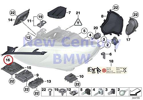 BMW Genuine Single Components For Headlight Right Headlight Gasket 328i 328xi 335i 335is 335xi 328i 335i 335is