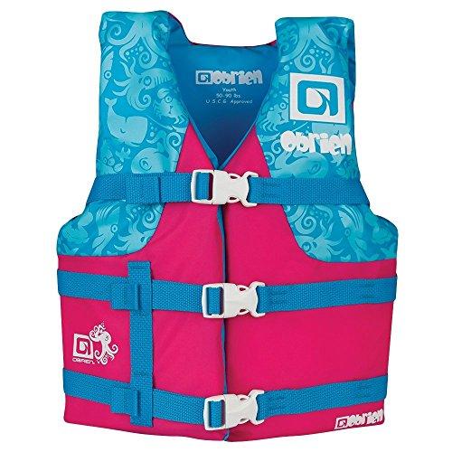 O'Brien Youth Nylon Life Jacket, Pink