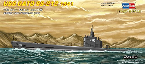 Hobby Boss USS GATO SS-212 1941 Boat Model Building Kit