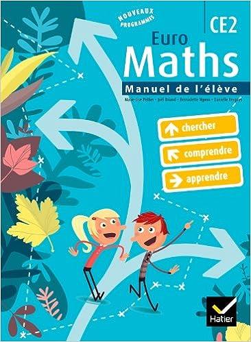 Euro Maths CE2 éd. 2010 - Manuel de l'élève + Aide-mémoire pdf