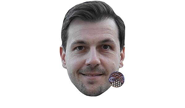 Card Face and Fancy Dress Mask Timo Boll Celebrity Mask