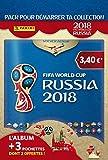 Panini France SA Coupe du monde 2018 STICKERS Album + 3 pochettes (1 + 2 offertes) - version française