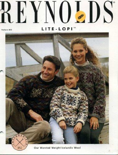 (Reynolds Family Snowflake Pullover (Knit Sweater Pattern) (Lite-Lopi, Pattern 852))