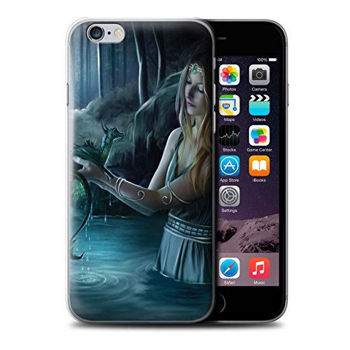 Officiel Elena Dudina Coque / Etui pour Apple iPhone 6 / Eau/Bébé Design / Dragon Reptile Collection