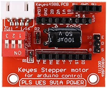 ILS - A4988 / Driver DRV8825 Stepper Motor Control Board para ...