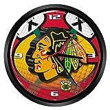 NHL Glass Wall Clock