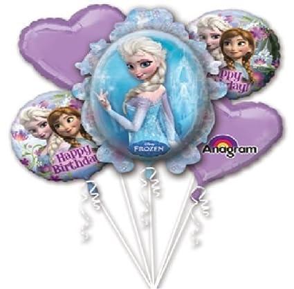 Amazon.com: loonballoon Frozen Anna Elsa Corazones Copo de ...