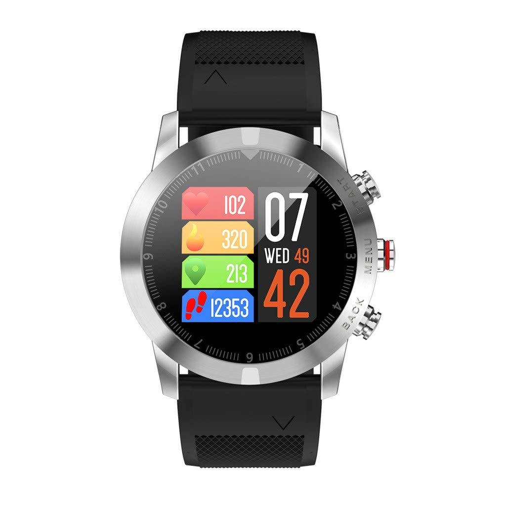 Amazon.com: WoCoo Smartwatch 1.3 IP68 S10 DTNO.1 Bluetooth ...
