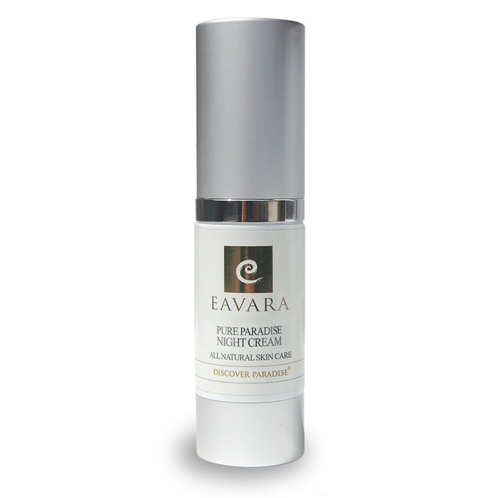 Organic Retinol Night Cream For Women | Eavara Anti-Aging Natural Skin Care With Hyaluronic Acid | Hydrating Face Moisturizer