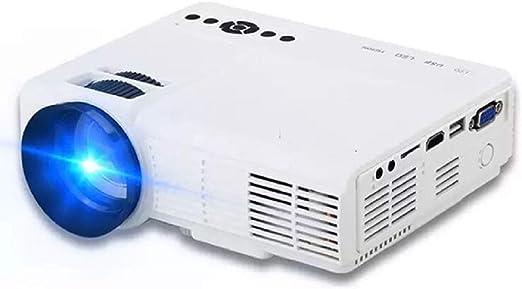 Leaf&Y Mini proyector de películas Multimedia portátil, Tecnología ...