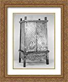 Thailand Culture 20x24 Gold Ornate Frame and Double Matted Museum Art Print Manuscript Storage Cabinet