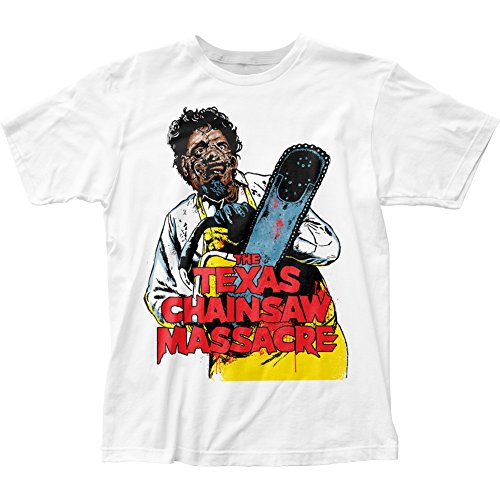 Texas Chainsaw Massacre- Leatherface Yellow Apron T-Shirt Size L