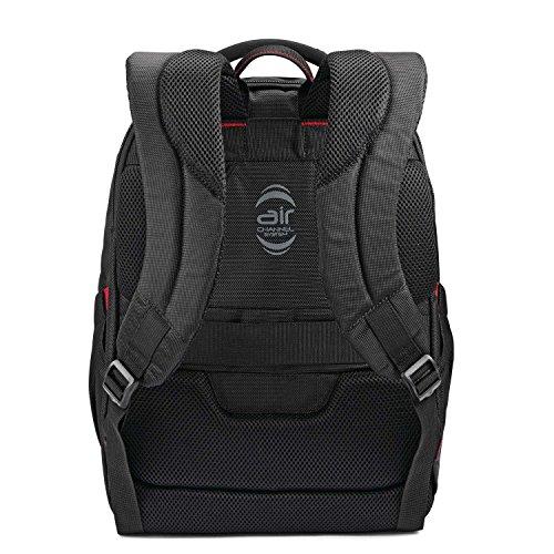 51KoWAG2hyL - Samsonite Slim Business Backpack, Black, One Size