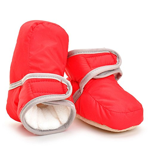 Pictures of Enteer Infant Waterproof Snow Boots Premium Soft 7