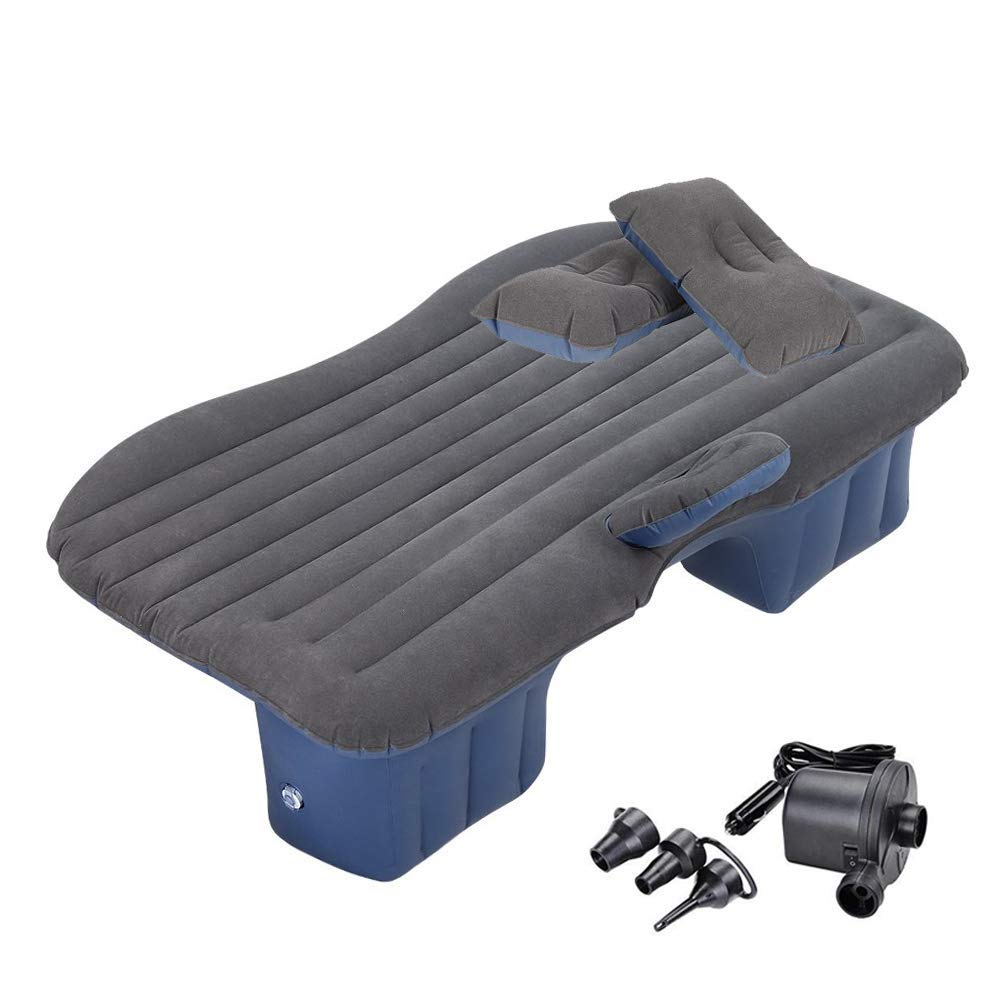 BMZX Model 3 Car Travel Inflatable Mattress Air Bed Cushion Portable Camping Universal for SUV Extend Air Couch with Two Air Pillows for Tesla Model 3 by BMZX