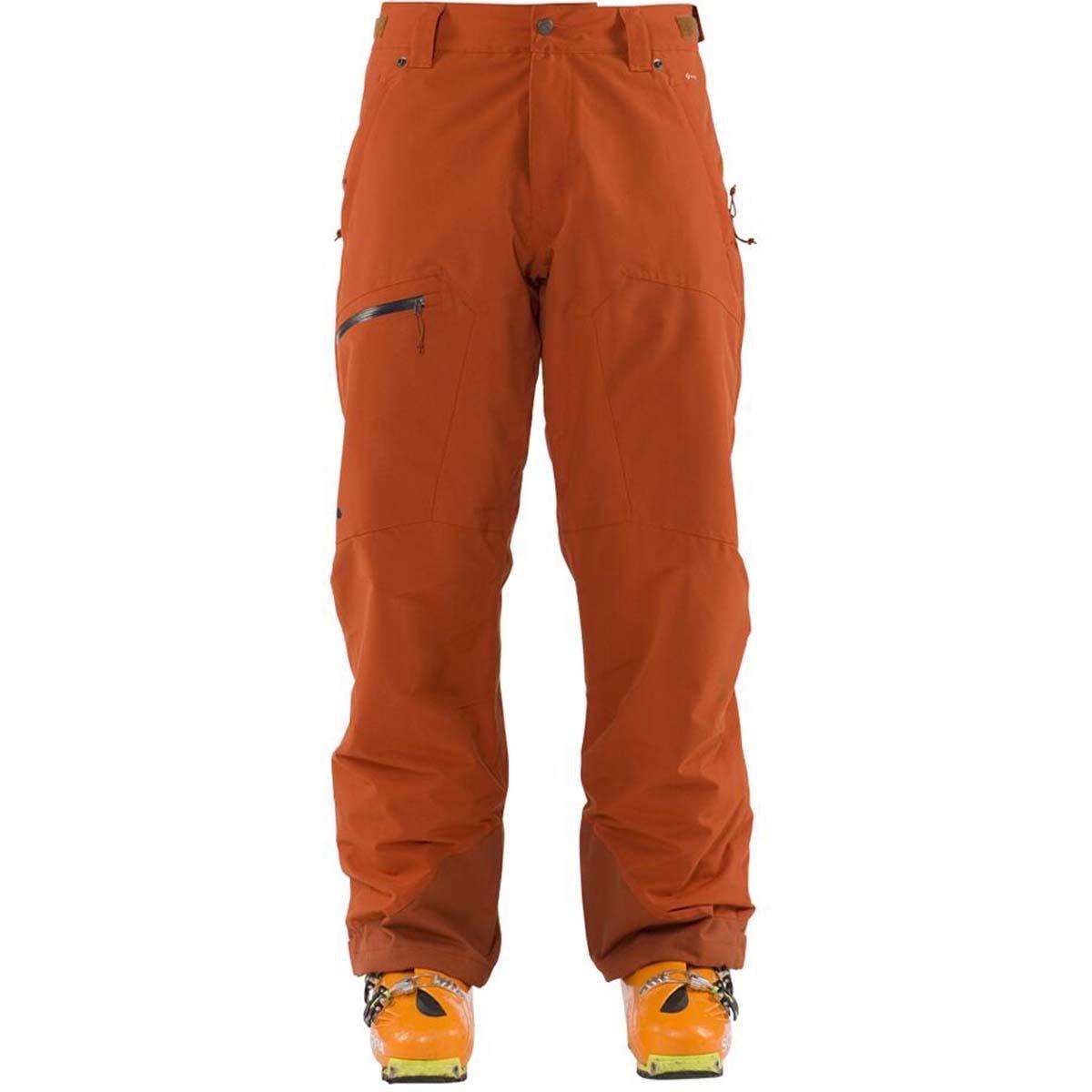Flylow Gear Snowman Pant – Men 's B07573735W  さび色 Small
