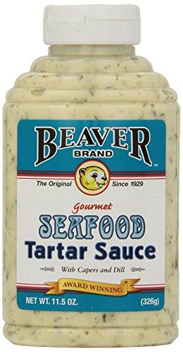 Beaver Brand Tartar Sauce, 11.5-Ounce Squeezable Bottles (Pack of - Sauce Tartar Beaver
