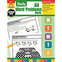 Daily Word Problems, Grade 1 Math
