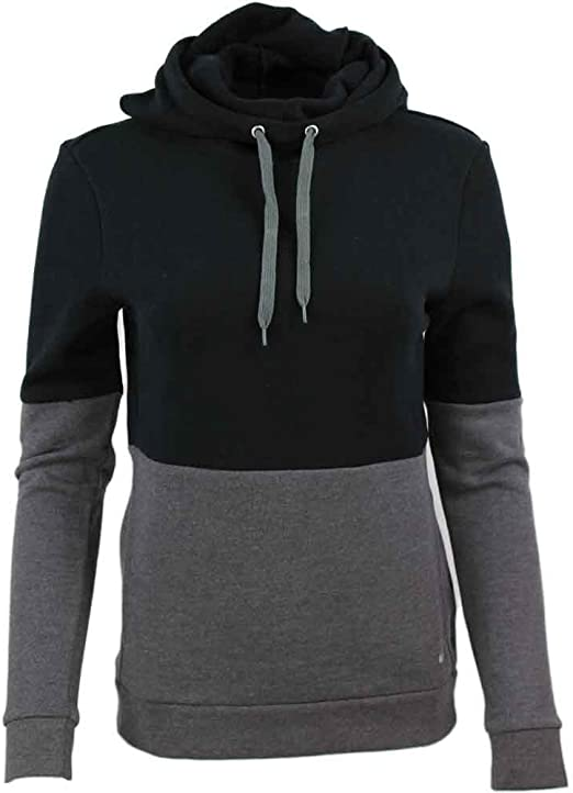 : ASICS Funnel Hoodie Black SM (US 6 8): Clothing